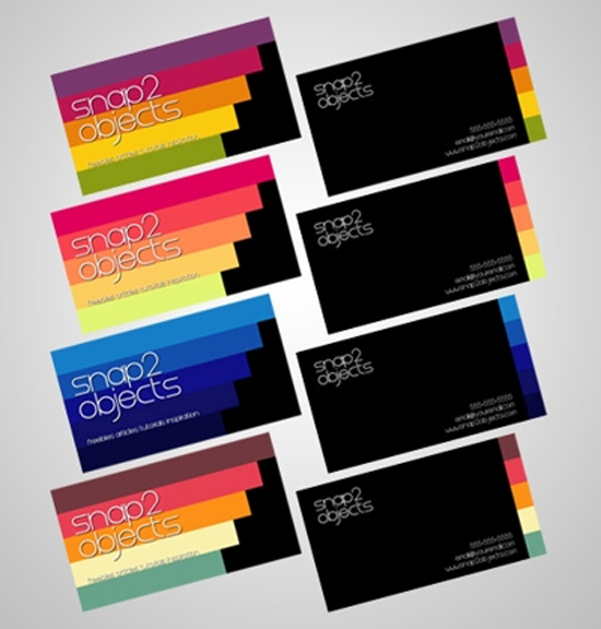 5 Business Card Template Packs