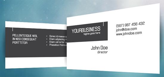 Crispy business card