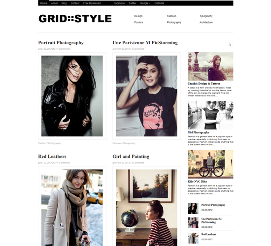 Grid Style
