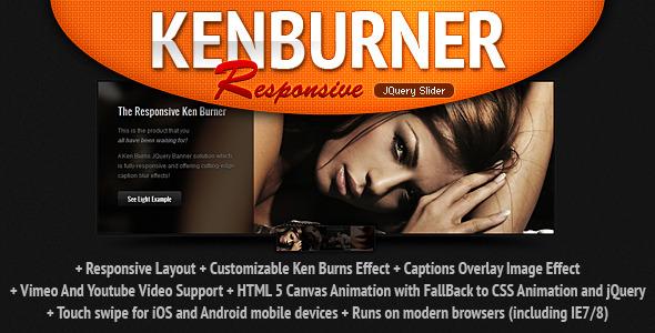 KenBurner Slider