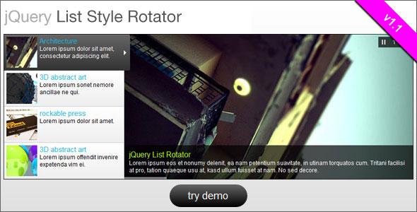 List Style Rotator