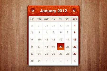 Little calendar