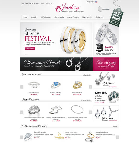 30 Free Responsive eCommerce Templates and Websites for your ...
