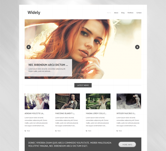 35 Custom Design Free WordPress Photography Themes