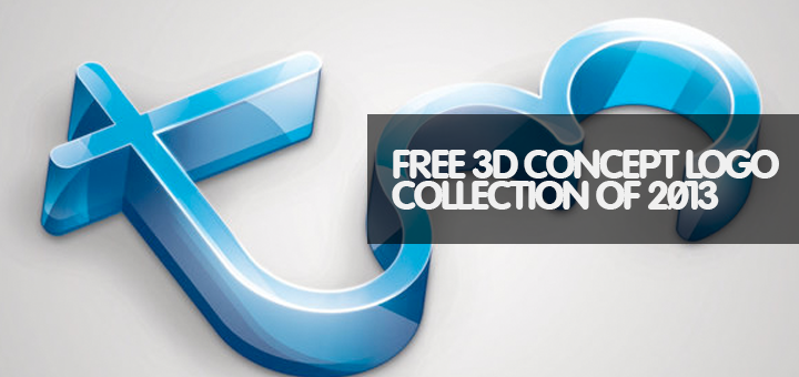 30 Top Free 3D Concept Logo Collection