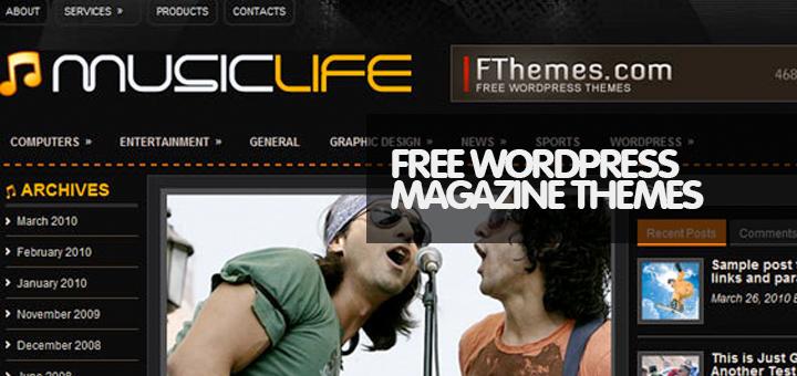 30 Amazing Free Magazine WordPress Themes