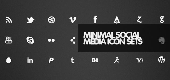minimal-social-media-icons