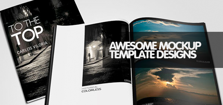 30 Top Beautiful Free Photoshop Mockup Templates of 2014