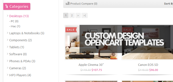 40 Powerful Responsive OpenCart Templates