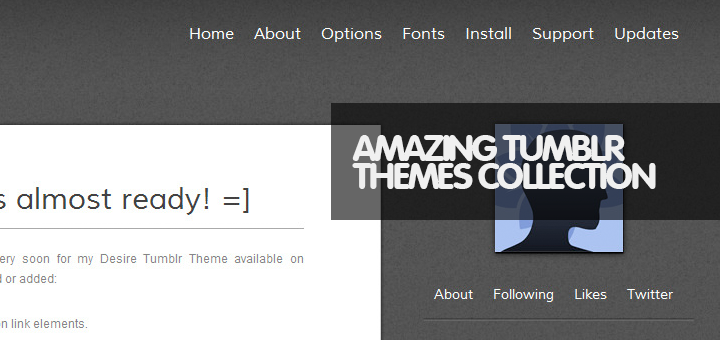 45 Premium Tumblr Themes Collection for Professional Bloggers!