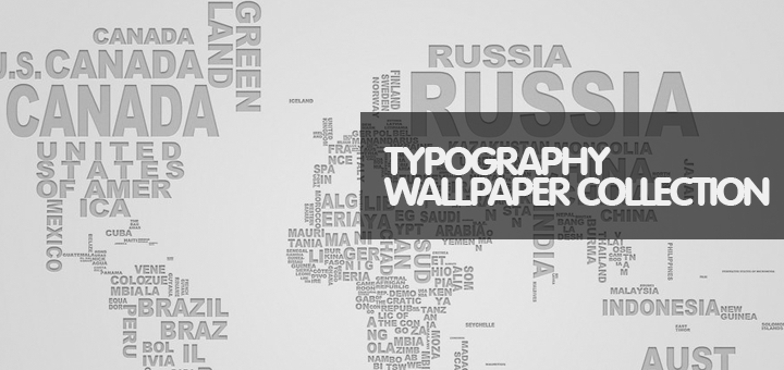 30 High-Quality Free Typography Wallpapers