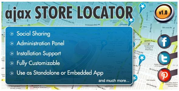 AJAX-Store-Locator
