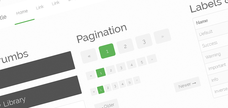 46 Powerful Bootstrap Skins for Your New Web Projects
