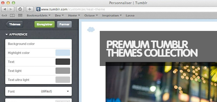 35 Quality Responsive Personal Blogging Tumblr Themes