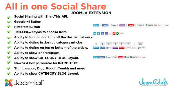 All in One Social Share