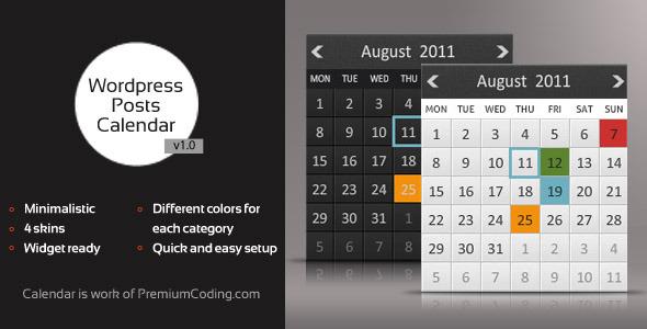 Красивый html календарь