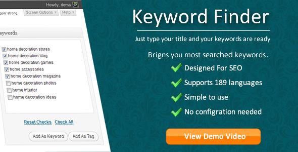 Keyword Finder