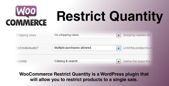 Restrict-Quantity