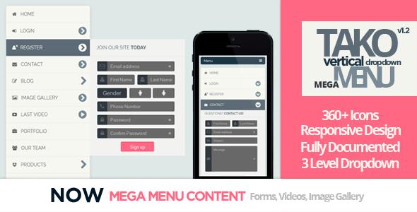 50+ Most Popular CSS3 Mega Menu Examples for Your Inspirations