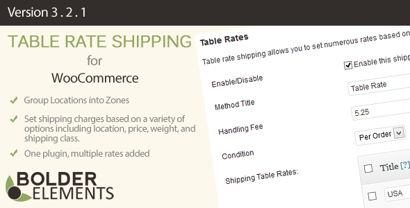 Table-Rate-Shipping