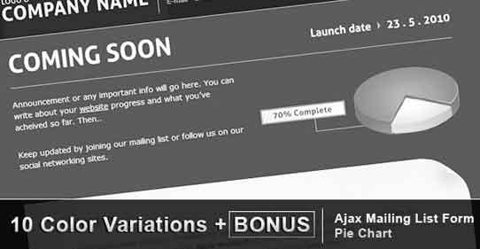 coming-soon-wordpress-theme
