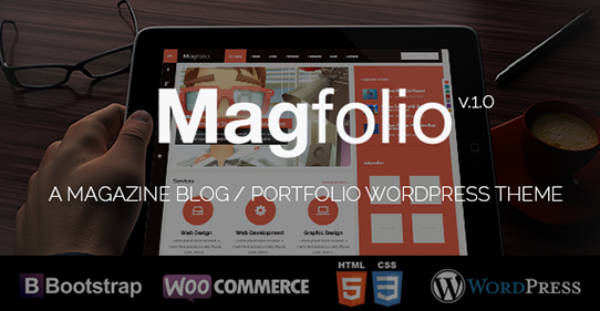 Magfolio WooCommerce Compatible WordPress eCommerce Theme