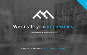 55+ Best Seller Responsive WordPress Onepage Themes
