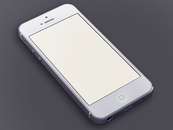 psd-white-iphone5
