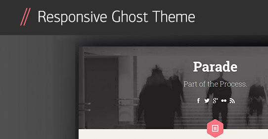36+ Best Responsive Ghost Themes for Just Blogging!