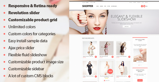 40+ Best Seller Responsive eCommerce Themes and Templates of 2013