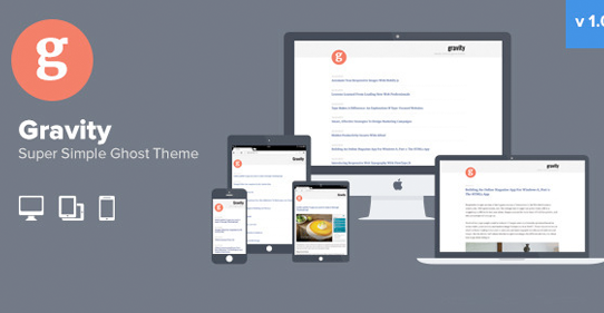 30+ Top New Responsive Premium Ghost Themes