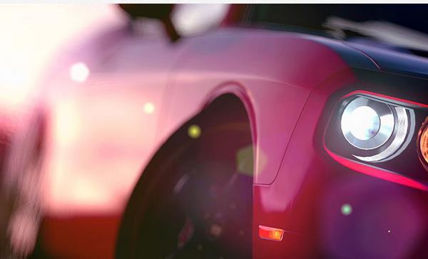 car-light-twitter-background