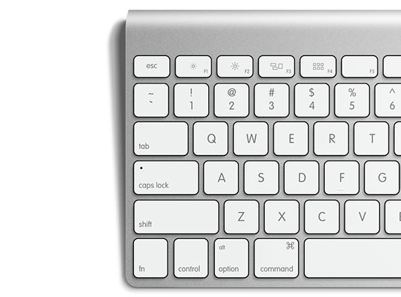 free-psd-apple-keyboard
