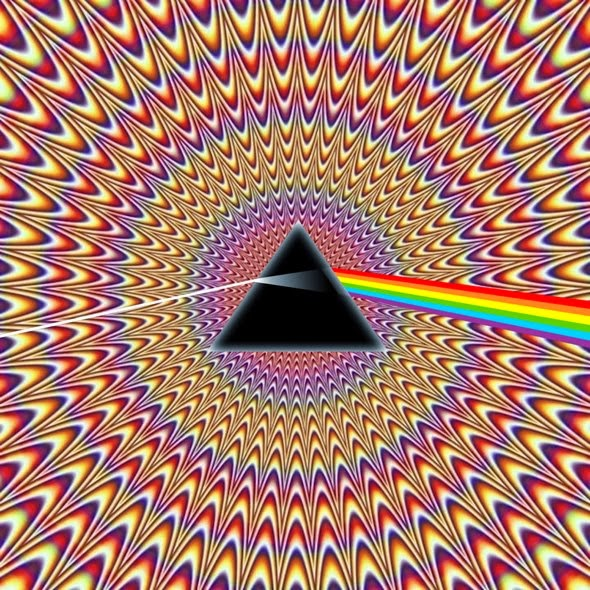 prism optical illusion