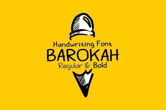 barokah-free-handwriting-font
