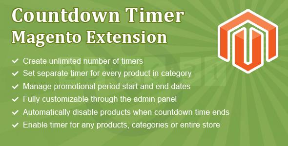 Countdown Premium Magento Extensions