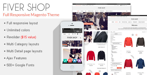 latest magento theme