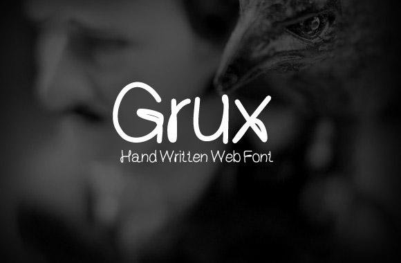 grux-free-font