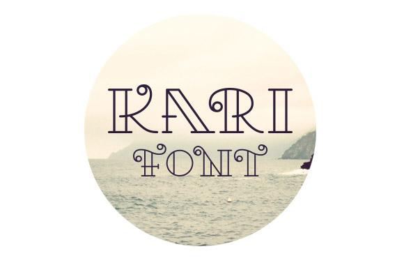 kari-free-font