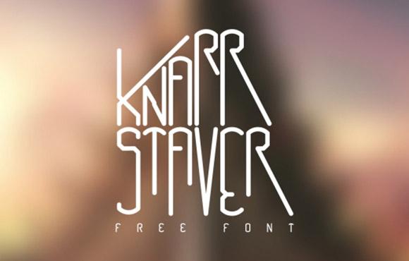 knarrstaver-free-font