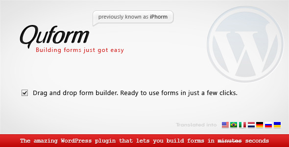 Premium WordPress form Plugin
