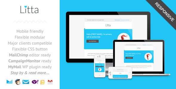 51+ Best Responsive HTML Email Template of 2014