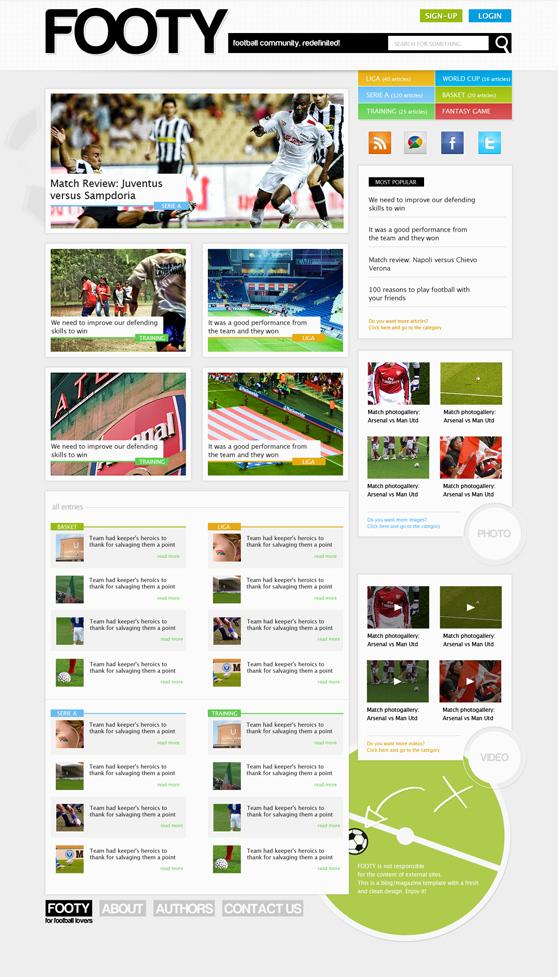 magazine-psd-html