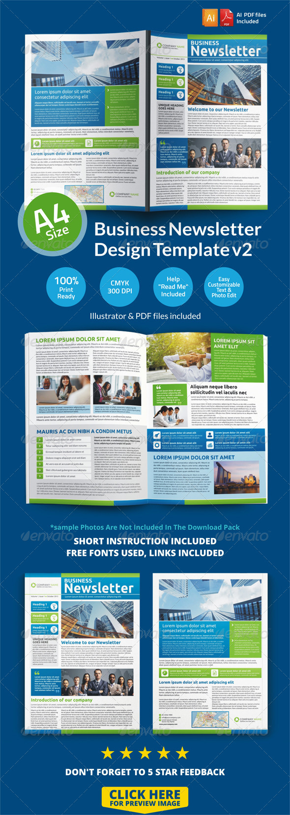 100+ Top Newsletter Design template for Multipurpose