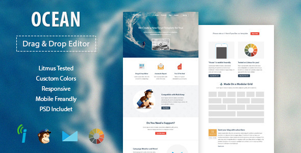 Best Responsive HTML Email Template Of - Responsive html email template