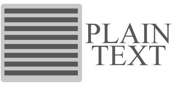 plain-text