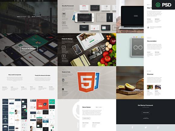 Startup-Framework-designmodo-psd