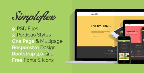 simpleflex-onepage