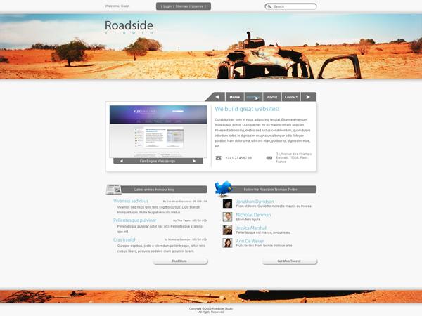 sleek-website