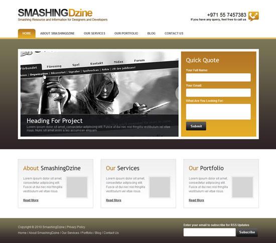 smashing-psd-html